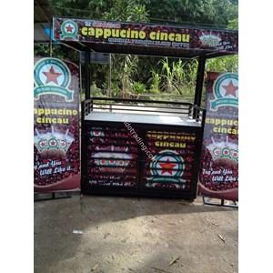 Gerobak Hitam Khas Cappuccino Cincau 2