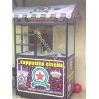 grobak almunium Hitam Khas Cappuccino Cincau  1