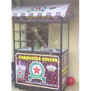 grobak almunium Hitam Khas Cappuccino Cincau