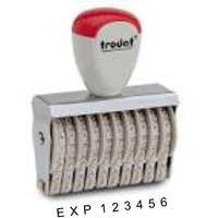 Spesialist Stempel Expire Date - Bar Kode 1