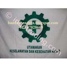 Bendera Safety K3 Standar Depnaker