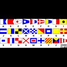 Alphabet  bendera