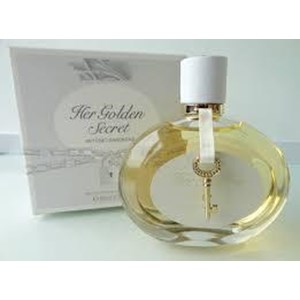 Sell Antonio Banderas Perfume Her Golden Secret Tester From