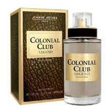 jeanne arthes colonial club legend for man edt uk.100ml
