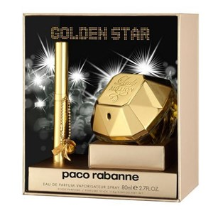 parfum paco robanne lady million set