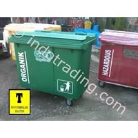 Distributor Tong Sampah Fiberglass Roda 660 Liter 3