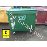 Jual Tong Sampah Fiberglass Roda 660 Liter 2