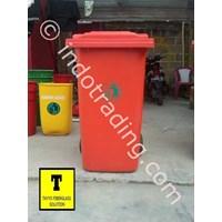 Jual Tong Sampah Fiberglass Roda 240 Liter 2