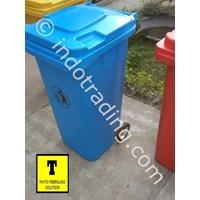 Tong Sampah Fiberglass Roda 100 Liter 1