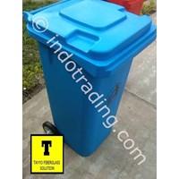 Distributor Tong Sampah Fiberglass Roda 100 Liter 3