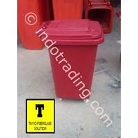Jual Tong Sampah Fiberglass Roda 50 Liter 2