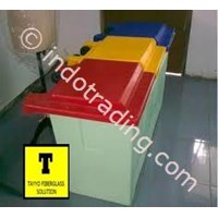 Distributor Tong Sampah Fiberglass 3 In 1 3