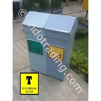 Distributor Tong Sampah Fiberglass 2 In 1 3