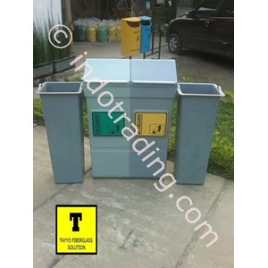 Tong Sampah Fiberglass 2 In 1