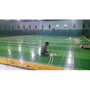 Dari Lapangan Futsal Interlock 3