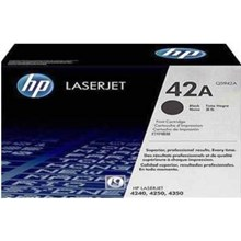 HP 42A Black Laserjet Toner Cartridge[Q5942A]