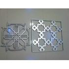 Krawangan Cor Aluminium Kerawangan Cor Alumunium Pagar Ornamen Islami Aluminium Cor 5