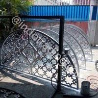 Krawangan Cor Aluminium Kerawangan Cor Alumunium Pagar Ornamen Islami Aluminium Cor