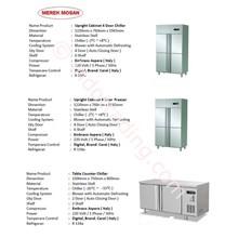 Upright Chiller Under Counter Chiller - Kulkas Dan Freezer
