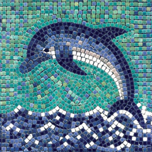 Keramik Mosaic Decorative Cutting Animal