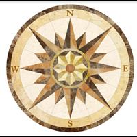 Jual Tile Mosaic Decorative Cutting Circle