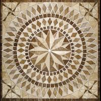 Tile Mosaic Decorative Non Cutting Circle