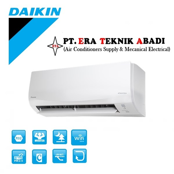 Ac Split Wall Daikin 1.5PK Smile Inverter