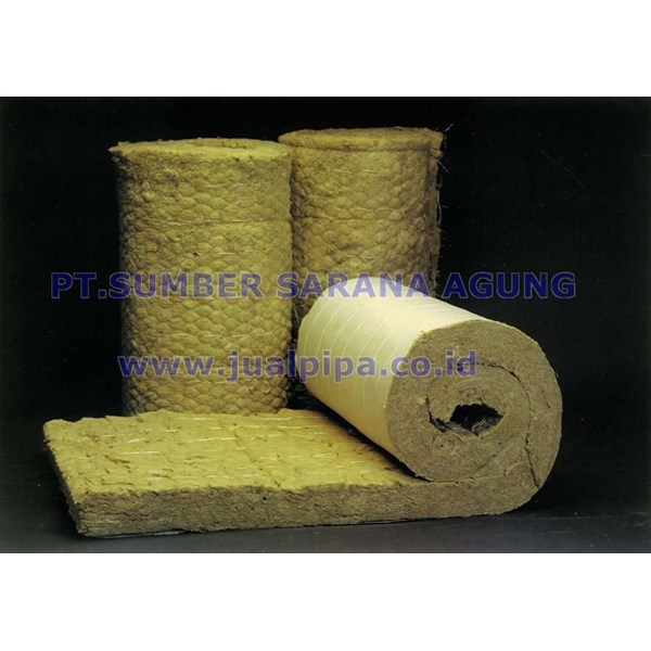 ROCK WOOL KAWAT ROLL TOMBO
