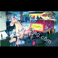 Kereta Mini Sepeda Motor Kuda Kencana 1