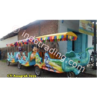 Kereta Mini Sepeda Motor Loko Gajah 1