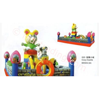 Istana Balon Cozy Castle 5x8