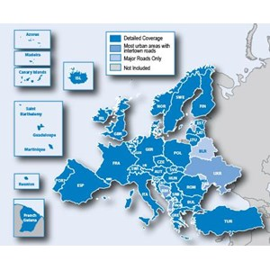 Peta Navigasi Eropa (Europe) for GPS Nuvi update 2016 full coverage