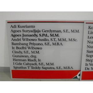 Acrilyc Display Surabaya