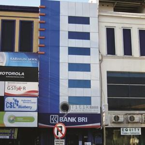 Fasade Gedung Alucubon Surabaya