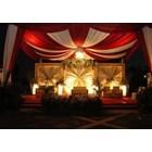 Plafon Dekor tenda - dekorasi wedding 2