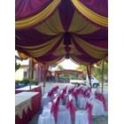 Plafon Dekor tenda - dekorasi wedding 3