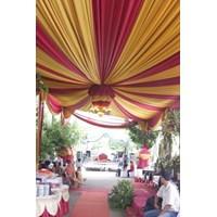 Plafon Dekor tenda - dekorasi wedding Murah 5