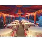 Dekorasi wedding - Plafon Dekor  tenda 1