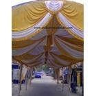 Dekorasi wedding - Plafon Dekor  tenda 3