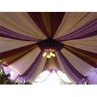 Dekorasi wedding - Plafon Dekor  tenda 2