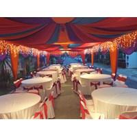 Dekorasi wedding - Plafon Dekor  tenda Murah 5