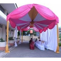 Jual Dekorasi wedding - Plafon Dekor  tenda 2