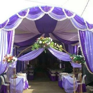 Dekorasi wedding - Plafon Dekor  tenda