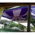 dekorasi wedding - Plafon Dekor 5