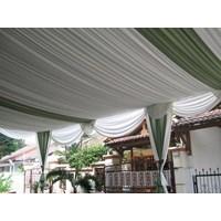 Beli dekorasi wedding - Plafon Serut 4