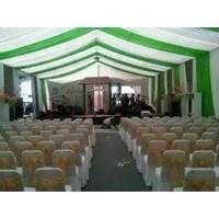Jual dekorasi wedding - Plafon Serut 2