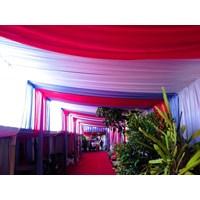 Distributor dekorasi wedding - Plafon Serut 3