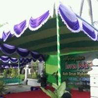 dekorasi wedding - Plafon Serut Murah 5