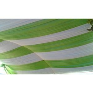 dekorasi wedding - Plafon Serut