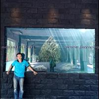Aquarium Arwana 4 Meter (akuarium & aksesoris)